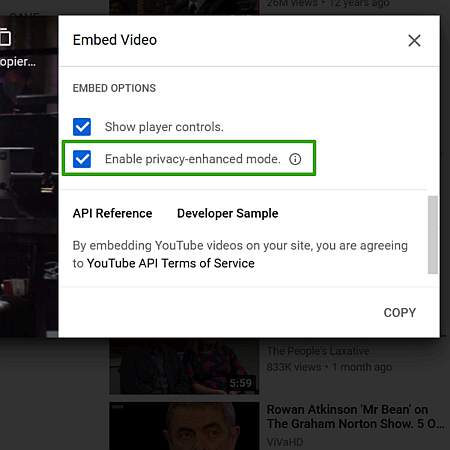 youtube videos ohne cookies: jetzt ist das Häkchen richtig gesetzt